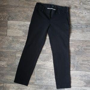 J. Crew City Fit Black Trousers Slacks Career Work